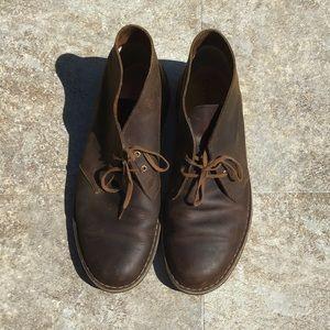 Clark's original dessert boots crepe bottom 10
